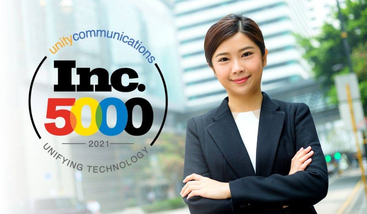 Unity Communications Rank 1669 on 2020 Inc500 List_featured image 1