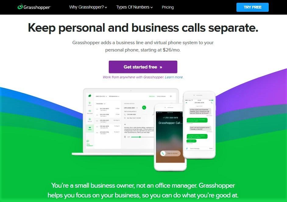Grasshopper web screenshot